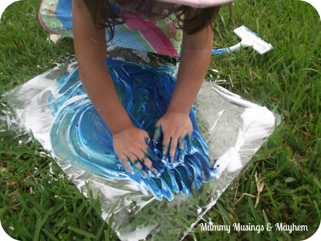 Sensory Fingerpainting