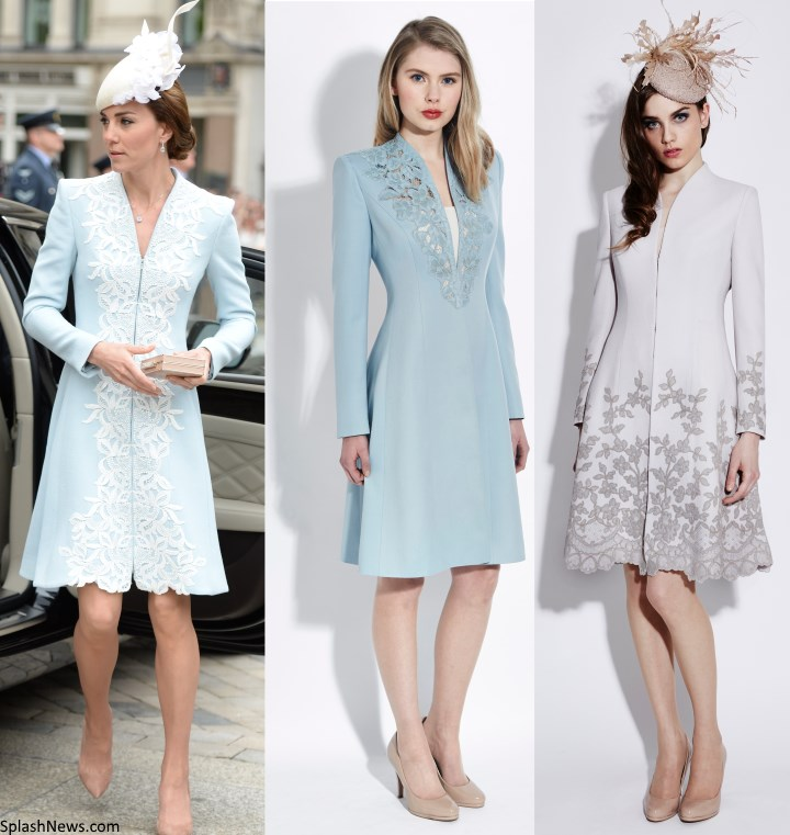 Duchess Kate: Kate in Catherine Walker for National Service of ...