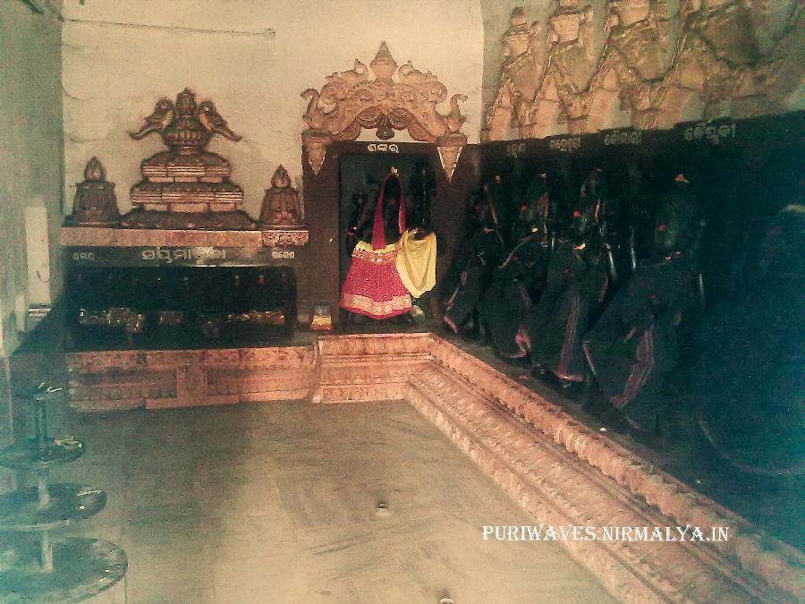 Sapta Matruka.Temples in Puri, Sapta Matrika pitha of Puri , Markandeswar Sahi, Nitei Dhobani, Pitei Sauruni
