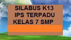 SILABUS K13 IPS TERPADU KELAS 7 SMP EDISI REVISI BARU