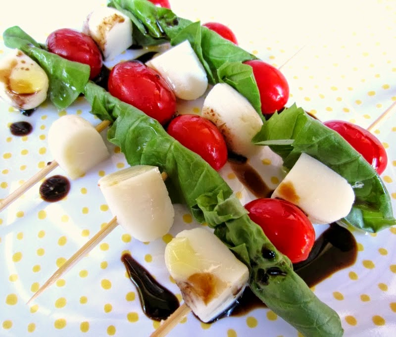 Babybel 174 Mozzarella Mini Caprese Skewers Renee S Kitchen