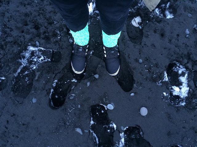 Vík í Mýrdal Black Sand Beach Reykjavik, Iceland - Bearded Couture