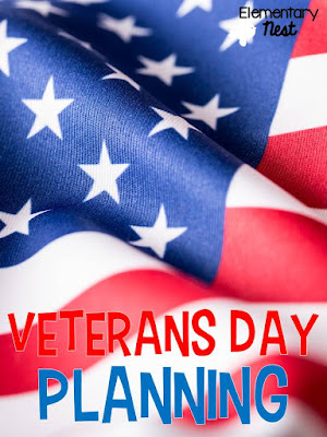 Veterans Day Lesson Planning Ideas- poem, fluency, crafts for reading and writing, and assembly lesson plans