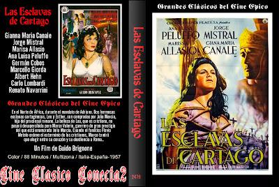 Esclavas de Cartago (1957) | Cine clasico - Caratulas
