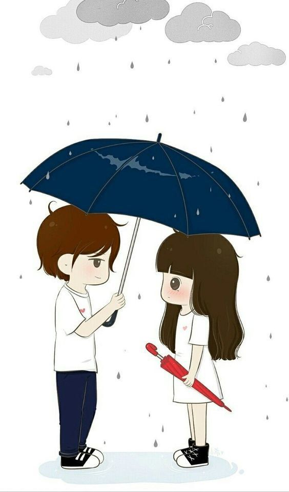 Cartoon Love wallpaper couple