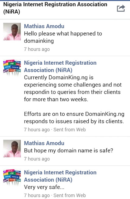 Reasons why Domainking.ng is Down or Temporarily not Available
