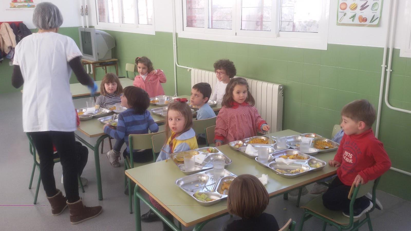 C e i p juan xxiii las lumbreras monteagudo servicio de for Dibujos para comedor escolar