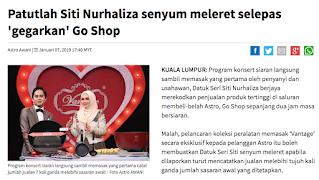 Terjebak Beli Vantage | GO SHOP Special Edition with Dato' Sri Siti Nurhaliza Signature Laser Engraving