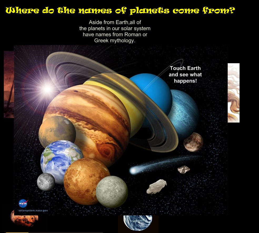 all of the planets named - photo #28