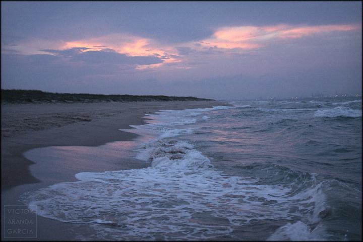 mar, El Saler, playa, naturaleza, Valencia, atardecer