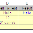 Function to check text in excel cells  | TECH GNAN
