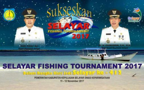 "Ratusan Pemancing Dari Berbagai Daerah, Ramaikan ""Selayar Fishing Tournament 2017"""