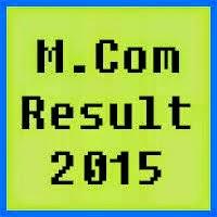 University of Peshawar UPESH MCom Result 2017