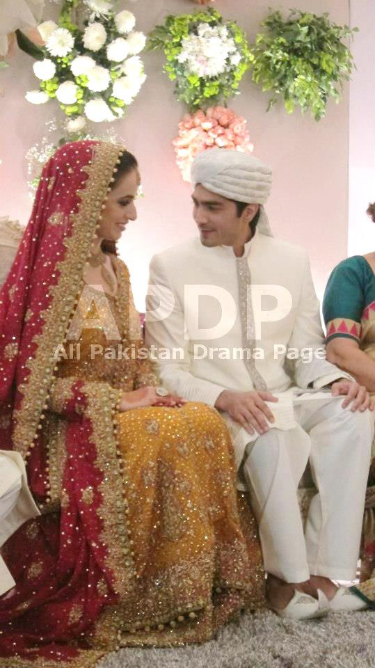 Javed Sheikh S Son Shehzad Sheikh Wedding Picture Ok Top Ten