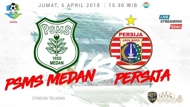 Prediksi PSMS Medan Vs Persija Jakarta, Jumat 06 April 2018 Pukul 15.30 WIB @ Indosiar