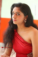 Actress Zahida Sam Latest Stills in Red Long Dress at Badragiri Movie Opening .COM 0247.JPG
