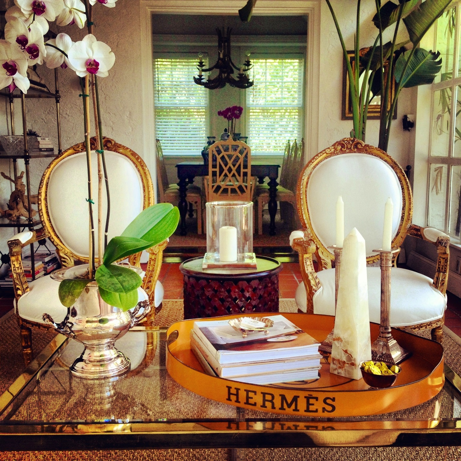 Luxe Report Luxe Decor French Chairs