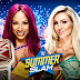 "WWE SummerSlam 2016 ""Sasha Banks vs Charlotte"" WWE Women's Championship - Download Official HQ Wallpaper"