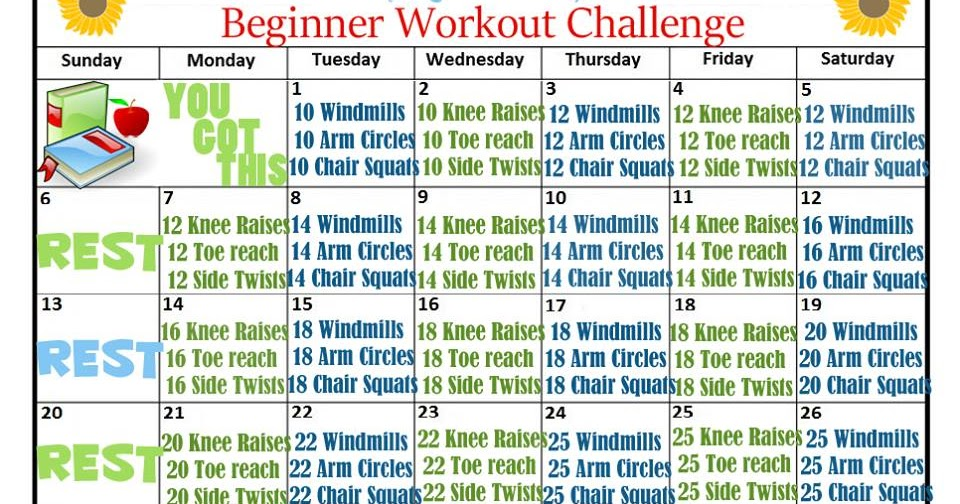 August Fitness Challenges