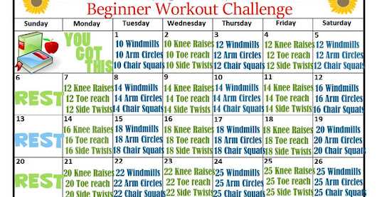 August Fitness Challenges - End of Summer Exercises - In & Outdoors