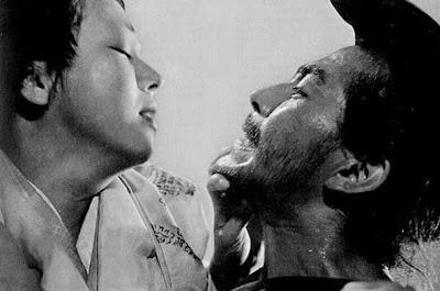 Toshiro Mifune in Akira Kurosawa's Rashomon