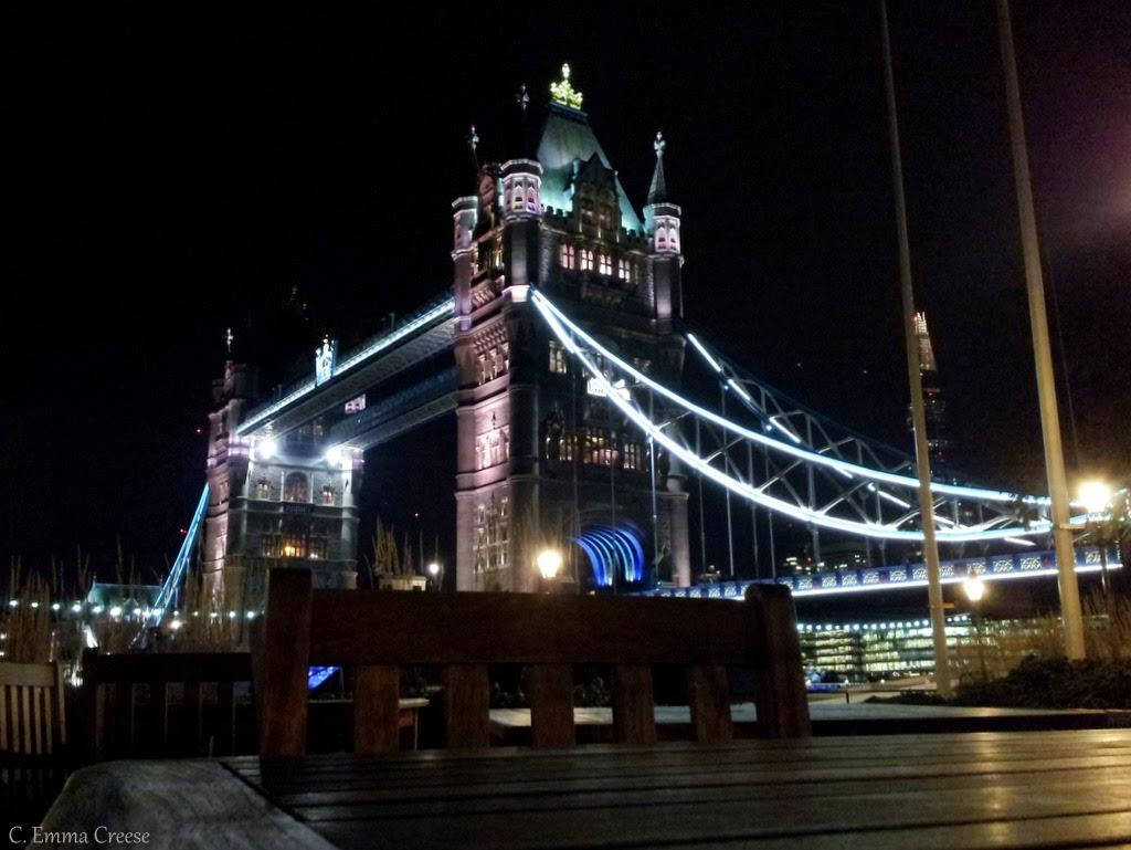 Best dinner view in all of London by the Tower Bridge