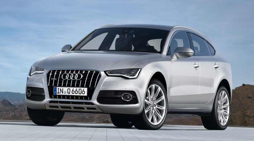 NewCar2070: Audi Q6 (2016): Audi's Crossover Coupe Scoop