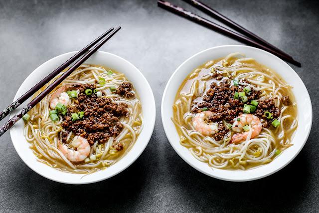 Món mì danzi Đài Loan thành phố Đại Nam