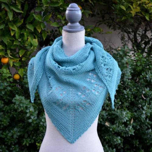 Soft Linen Shawl - Free Pattern