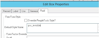 PeopleSoft Fluid Tab