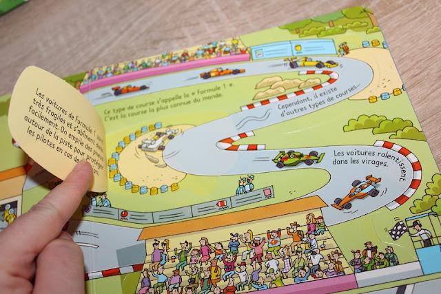 livre sur le thème des véhicules