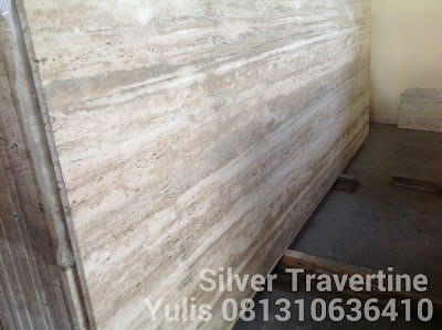 Marmer Murah Travertine Silver