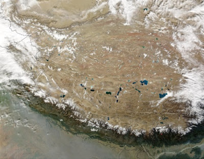 Chinese occupied Tibet roof of the world