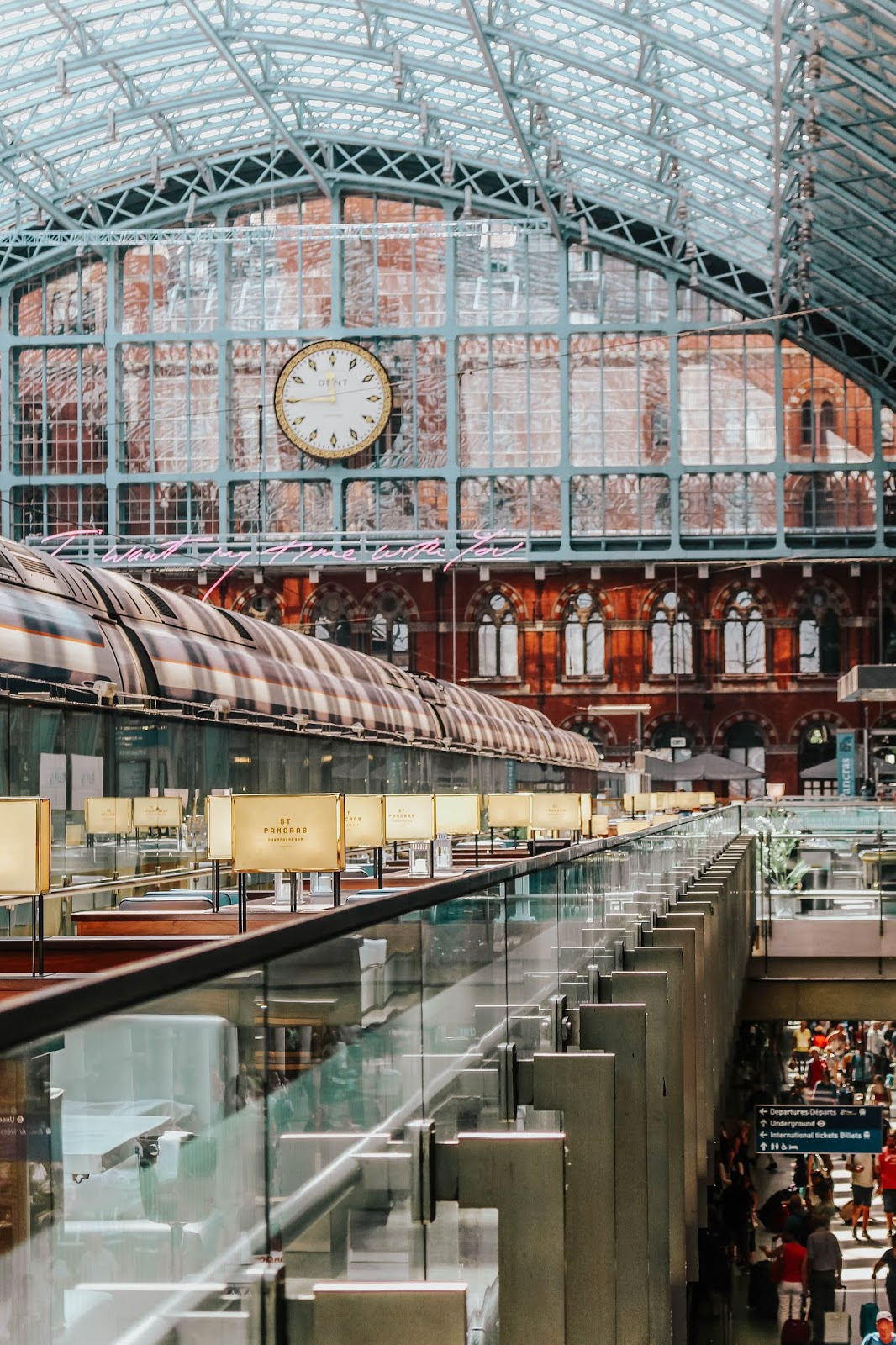 What to do Around St Pancras International Station