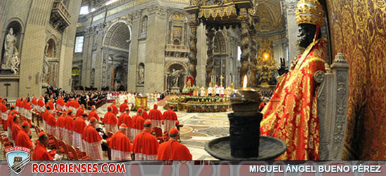 En la Solemnidad de Cristo Rey, el Papa recuerda que el poder del amor y de la verdad de Jesús jamás será destruido | Rosarienses, Villa del Rosario
