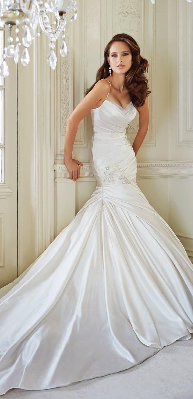 Sophia Tolli Fall 2014 Bridal Collection - Belle The Magazine
