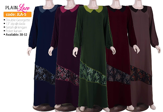 [JLA-5] Jubah Lace Elegant, Limited Stock ツ