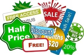 April Discounts and Offers