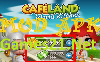 Download Cafeland World Kitchen Mod Apk