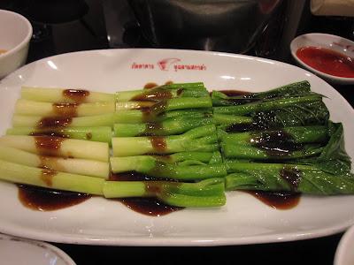 Bangkok, Scala Shark's Fin, kale oyster sauce