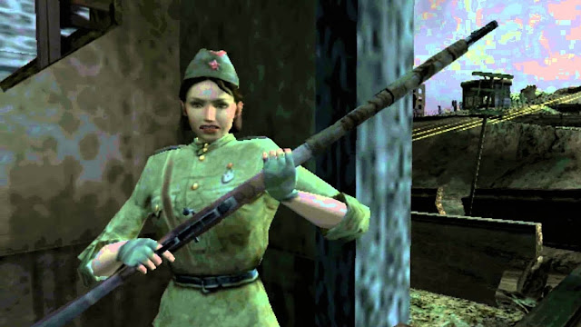 A female Russian sniper during the siege of stalingrad, from Call of Duty: Finest Hour