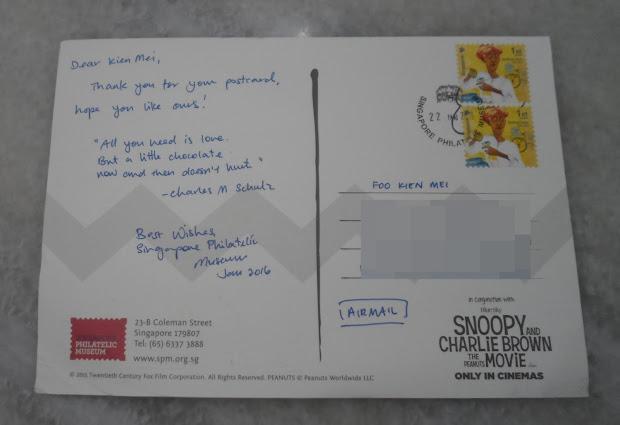 Interesting Corner Of Hand Drawing Snoopy Postcard