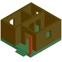 Low cost housing models for urban and rural areas by using rammed earth technique