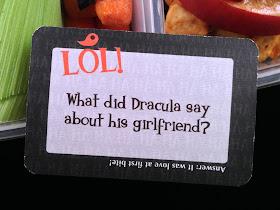 halloween lunchbox note