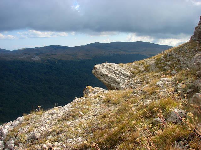 На вершине горы «1278»