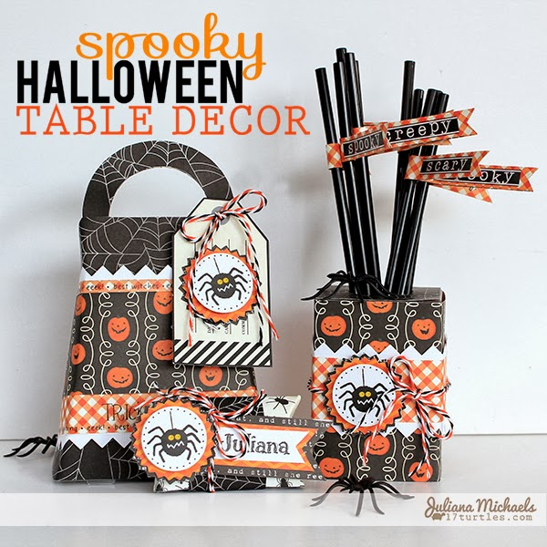 Spooky Halloween Table Decor by Juliana Michaels