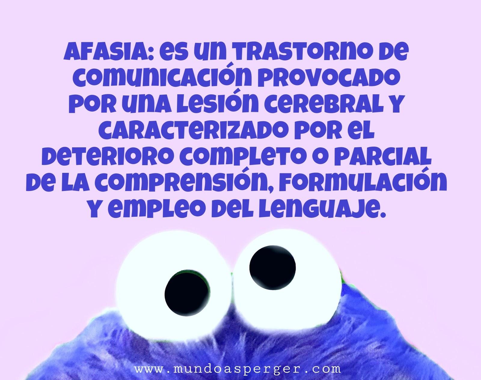 MuNDo AsPeRGeR: Dislexia, dislalia, afasia, agnosia, disgrafía ...