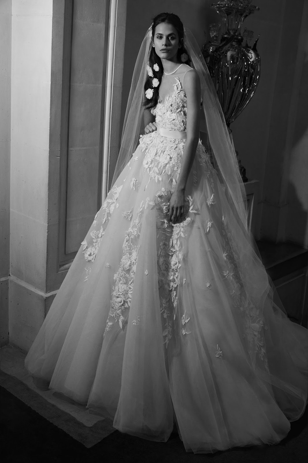 Elie Saab Ready-to-Wear Bridal Spring 2019 #BalDeVienne