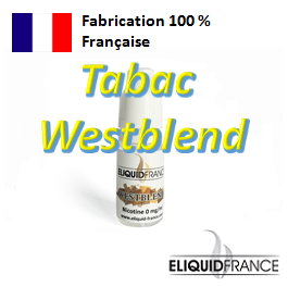 E-Liquide Tabac Westblend ELIQUID FRANCE 100 % Français sur Top Cigarette Electronique