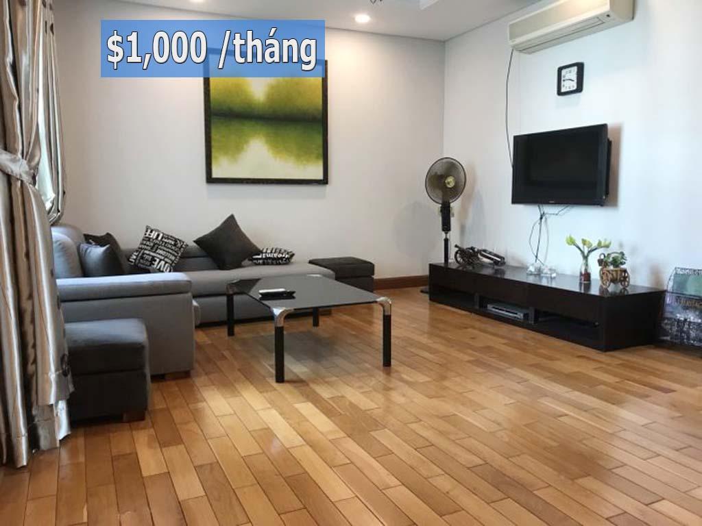 Rẻ nhất thị trường The Manor HCM cho thuê căn hộ 164m2